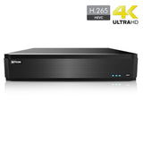 32 Channel All-in-One H.265 4K HD DVR (Up to an additional 32 CH IPC)