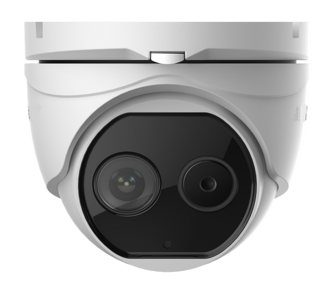 2MP Thermal and Optical Network Turret Camera