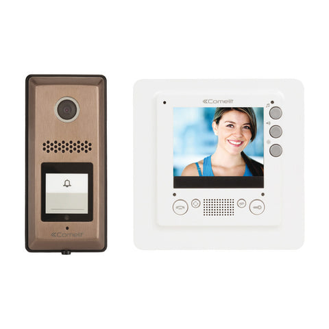 VIDEO INTERCOM KIT WITH SLIM MONITOR