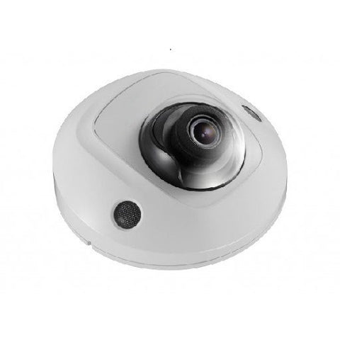 4 MP WDR Fixed, Vandal-Proof Mini Dome W/ Audio, Exterior