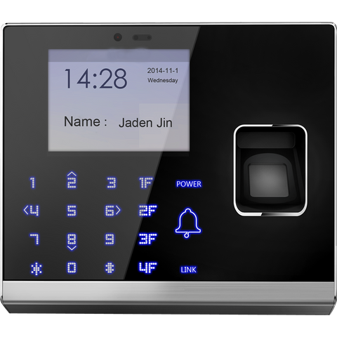 IP Based Fingerprint Access Control Terminal with Camera