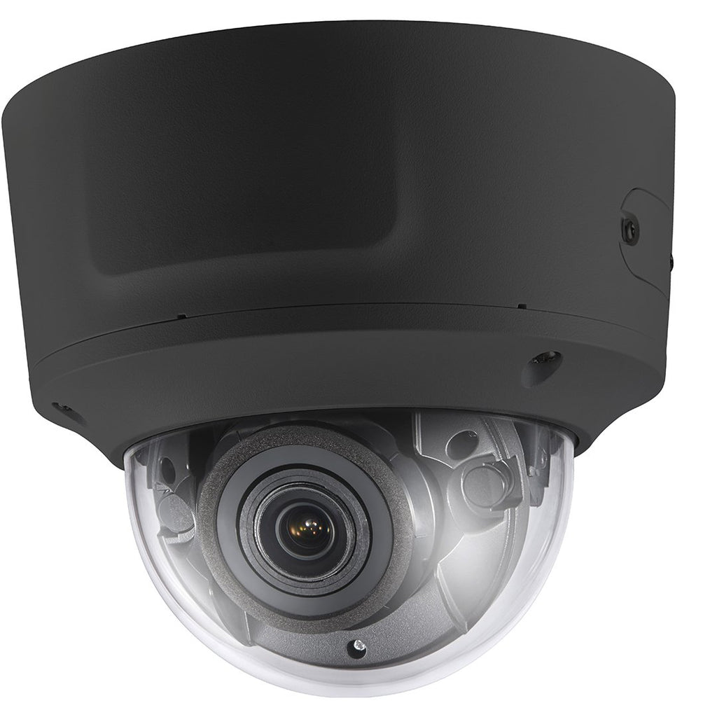 4MP VF IR Motorized Zoom, Vandal-Proof Dome With Audio, Exterior