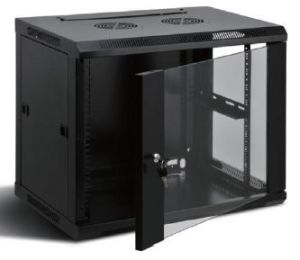 Wall Mount Rack Cabinet 9U with Fan