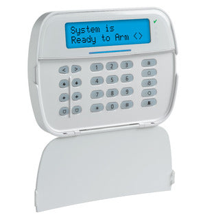 Full Message LCD Hardwired Security Keypad with Prox Support