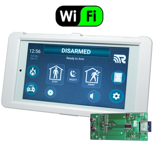Alula Wireless HeliTouch Keypad w/WiFi Expansion Card