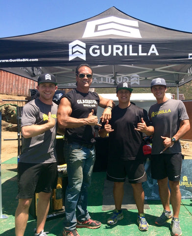 GURILLA BATTALION partnering with Gladiator Rock N Run