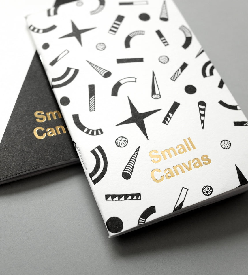 Small Canvas Notebooks (2-Pack)