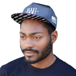 Snapback Black Arrow Hat