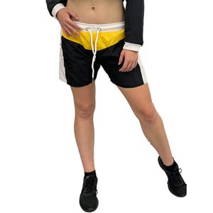 Yellow and Black shorts