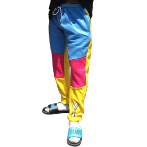 Tri Color Pants