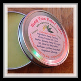 Hemp Pain Relief Salve with Argan Oil, Comfrey, Arnica and Magnesium - Circle A Ranch - 3