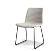 Eric Modern Upholstered Dining Chair, Set of 2