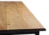 George Live Edge Solid Walnut Dining Table