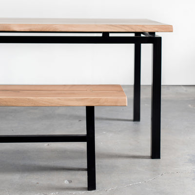 George Bench and Dining Table