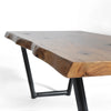 Henry Coffee Table, Solid Walnut Live Edge Table Top