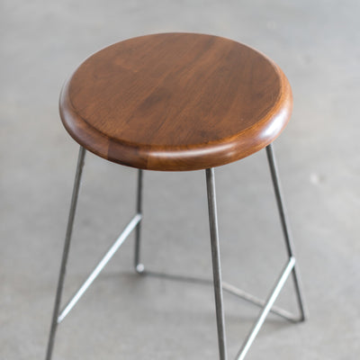 Nelson Counter Stool, Medium Walnut Seat