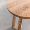 Oslo Walnut Round Side Table