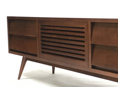 Oslo Mid Century Modern Tv Cabinet Gingko Home Furnishings