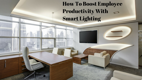 boost employee productivity with smart lighting