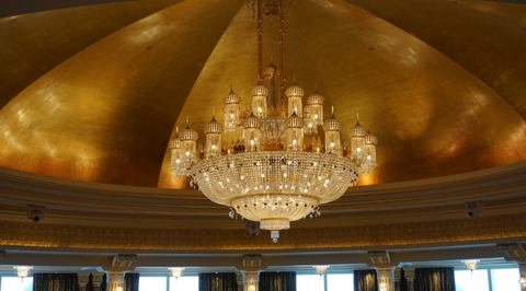 How to use chandeliers pendants and lamps to brighten your home when tasked with imagining a lighting fixture few structures spring to the minds eye as quickly as the ever elegant and dazzling chandelier aloadofball Gallery