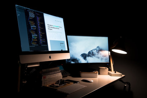 smart lighting for productive home offices