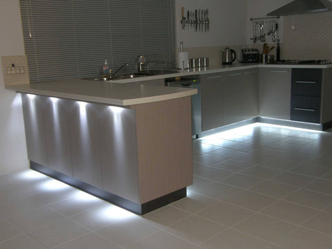 under cabinet smart lighting