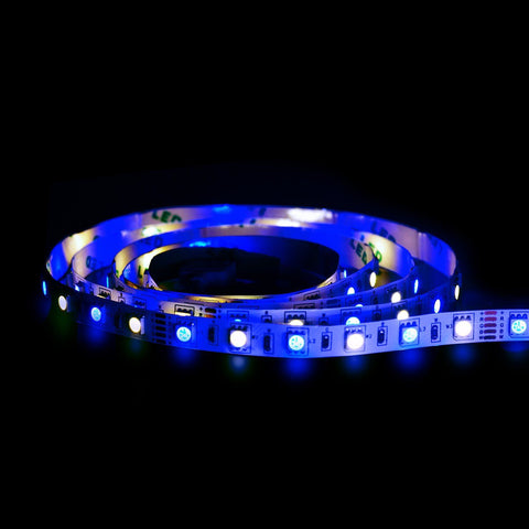 Bluetooth Smart LED Light Strip Kit - Color Changing Tape Lights for Bedroom, Under Cabinet and TV Bias Lighting