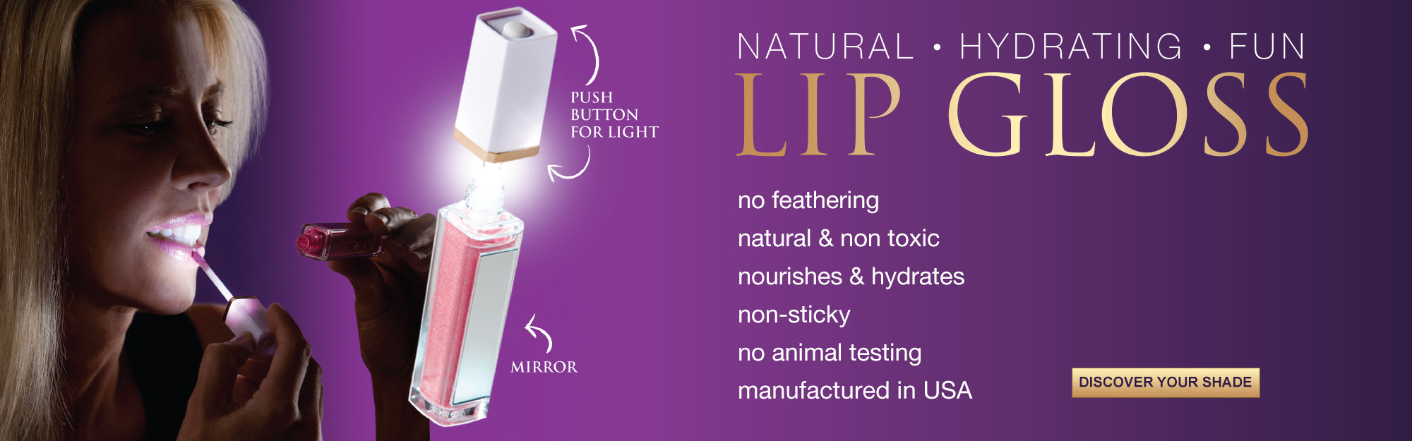 KTO Natural and Organic Lip Gloss