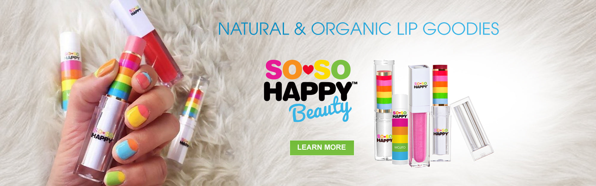 SO SO Happy Natural and Organic Lip Care