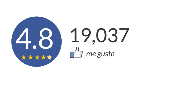 facebook 4.8 high reviews best customer satisfaction