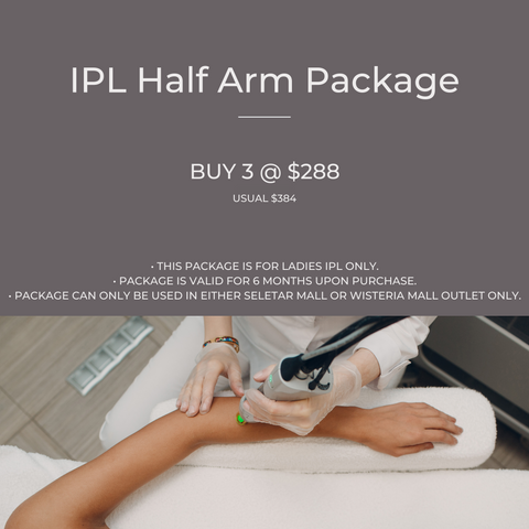 IPL Half Arm Package
