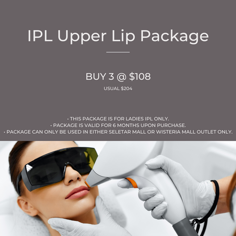 IPL Upper Lip Package