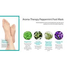 Royal Skin Aromatherapy Peppermint Foot Mask