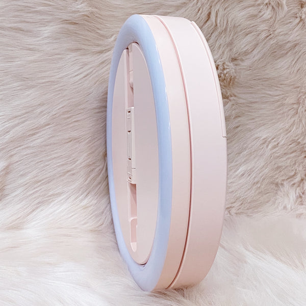 Beauty Ring Light with Phone Mount - Pink