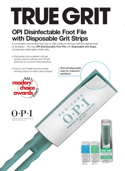 Foot File - Pedicure by OPI Disinfectable Foot File