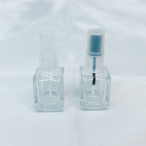 Glass Polish Bottle - Square