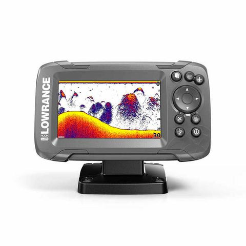 LOWRANCE HOOK² 4x Fishfinder with GPS and Bullet Skimmer Transducer