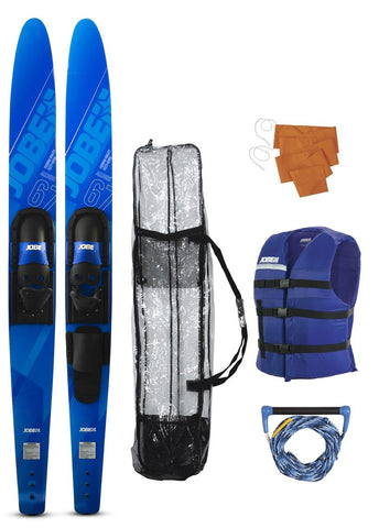Allegre 59 '' Combo Skis Blue Package