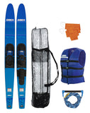 "JOBE SUP ALLEGRE 67"" COMBO WATERSKIS  BLUE"