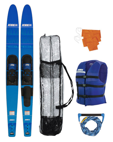 "JOBE SUP ALLEGRE 67"" COMBO WATERSKIS PACKAGE BLUE"