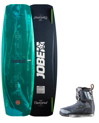 Concord Wakeboard & Charge Bindings set
