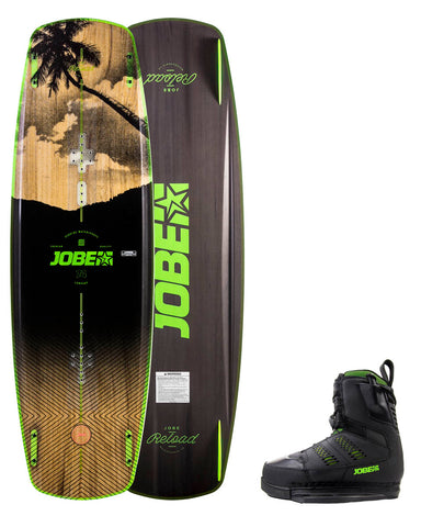 Reload Wakeboard & Nitro Bindings