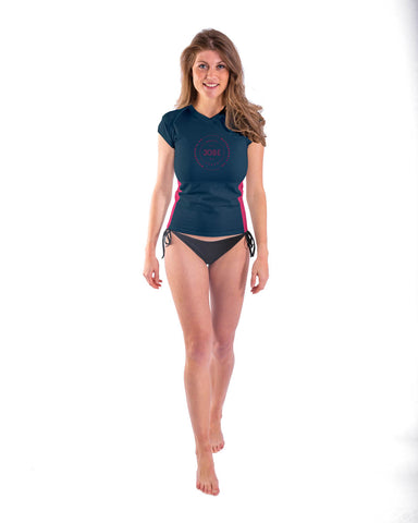 JOBE Women's Rash Guard V-Neck