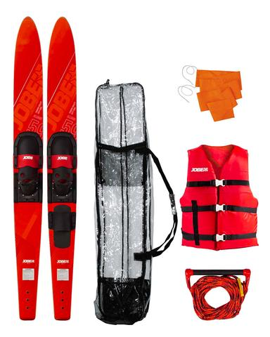 "Allegre 59"" Combo Skis Red Package"