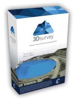 3Dsurvey V2.0 Software - Stand-Alone License