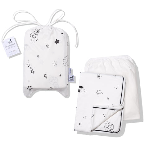 Crib Bedding Set 100% Cotton