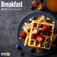 Breakfast 2019 Wall Calendar