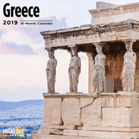 Greece 2019 Wall Calendar