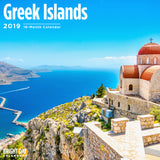 Greek Islands 2019 Wall Calendar