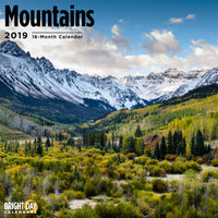 Mountains 2019 Wall Calendar